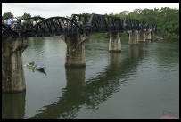 Digital photo titled bridge-on-the-river-kwai-from-bank