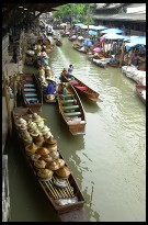 Digital photo titled floating-market-from-little-balcony