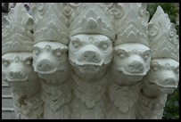 Digital photo titled nakhon-pathom-chedi-front-steps-carvings