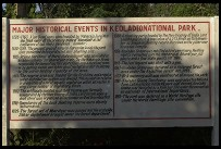 Digital photo titled keoladeo-ghana-history-sign