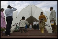Digital photo titled photographer-at-lotus-temple