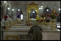 Digital photo titled sikh-temple-on-chandni-chowk-gold-altar