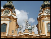 Digital photo titled melk-abbey-church-towers