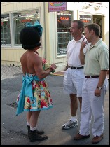 Digital photo titled provincetown-pedestrians
