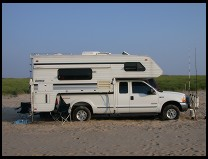 Digital photo titled truck-camper-white