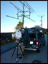 Digital photo titled ham-radio-van