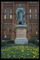 Digital photo titled statue-smithsonian-castle