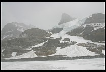 Digital photo titled columbia-icefields-mtn-side