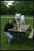 Digital photo titled brad-alex-picnic-table-2