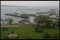 Digital photo titled mackinac-harbor