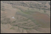 Digital photo titled badlands-aerial-2