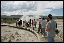 Digital photo titled geyser-spectators-2