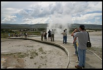 Digital photo titled geyser-spectators-4
