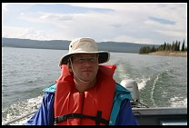 Digital photo titled kyle-on-lake-yellowstone-1