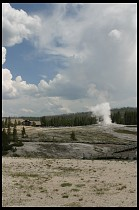 Digital photo titled old-faithful-erupting-1
