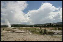 Digital photo titled old-faithful-erupting-2