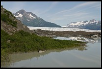 Digital photo titled lake-and-glacier