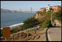 Digital photo titled sea-cliff-golden-gate