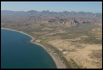 Digital photo titled cortez-coast-aerial-1