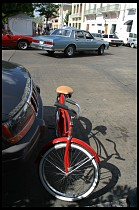Digital photo titled red-bike-vertical