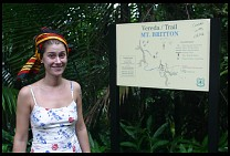 Digital photo titled kyle-and-el-yunque-sign