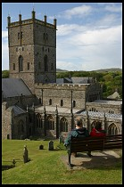 Digital photo titled st-davids-from-above