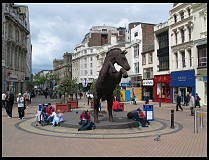Digital photo titled horse-statue
