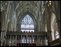 Digital photo titled minster-interior