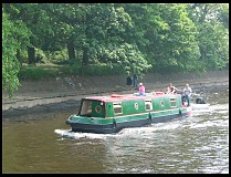 Digital photo titled narrow-boat