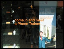 Digital photo titled phone-trainer-sign