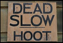 Digital photo titled dead-slow-hoot