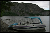 Digital photo titled kineo-rented-boat-1
