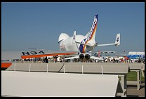 Digital photo titled airbus-beluga-and-f18s