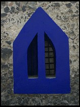 Digital photo titled blue-window