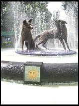 Digital photo titled coyoacan-fountain
