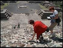 Digital photo titled teotihuacan-moon