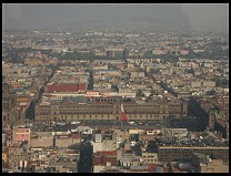 Digital photo titled zocalo-airport-smog