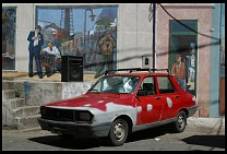 Digital photo titled la-boca-old-renault