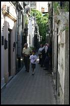 Digital photo titled recoleta-cemetery-alley