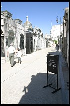 Digital photo titled recoleta-cemetery-sign-for-evita-1