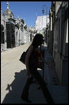 Digital photo titled recoleta-cemetery-woman