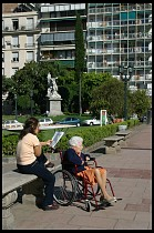 Digital photo titled recoleta-wheelchair