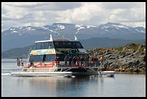 Digital photo titled beagel-channel-tourist-boat-2