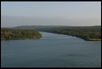 Digital photo titled rio-chagres-mouth