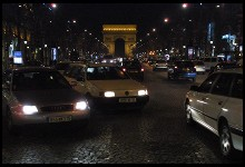 Digital photo titled champs-elysees-at-night