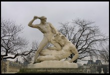 Digital photo titled tuileries-minotaur-statue