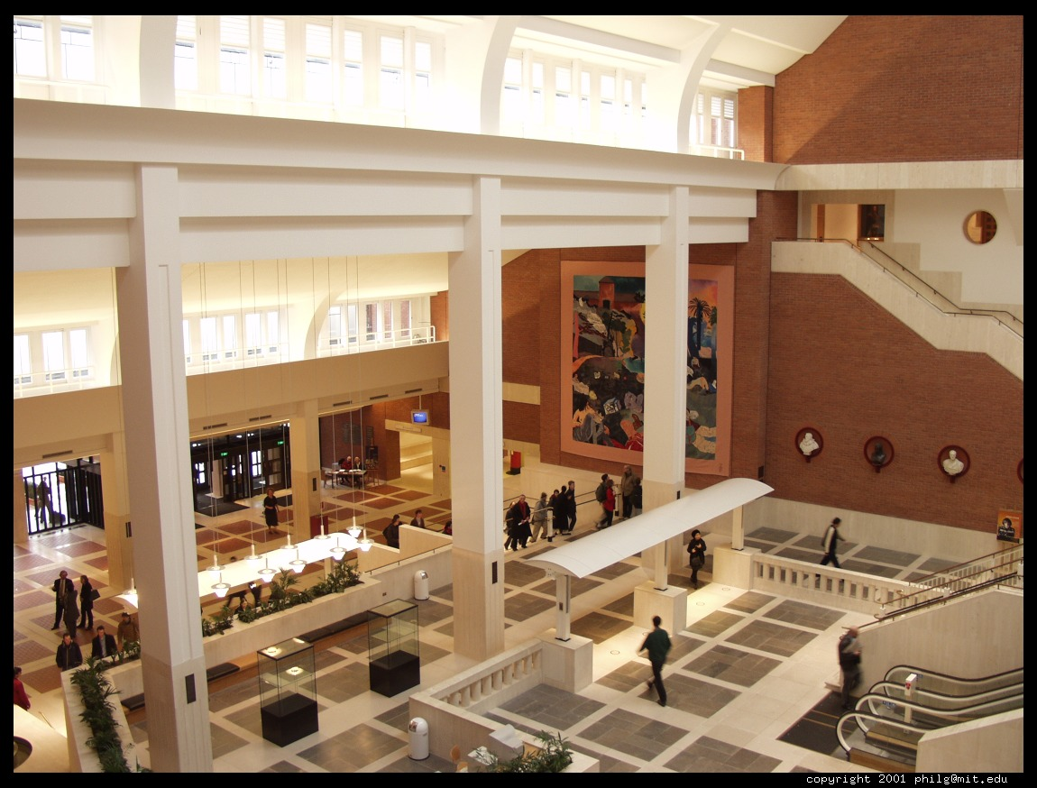 Lobby Of The British Library 2001