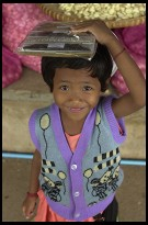Digital photo titled floating-market-little-girl