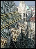 Digital photo titled stephansdom-roof-sides-and-city