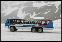 Digital photo titled columbia-icefields-snocoach